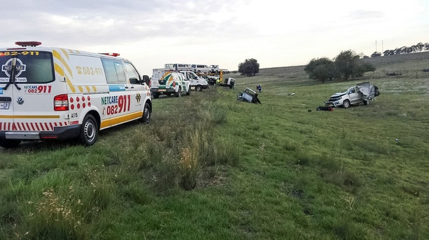 Ambulance at Accident Scene