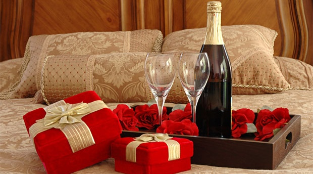 Wine served with gifts